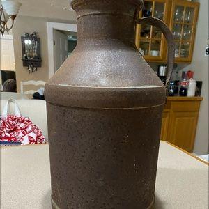 Metal Hood Milk jug-